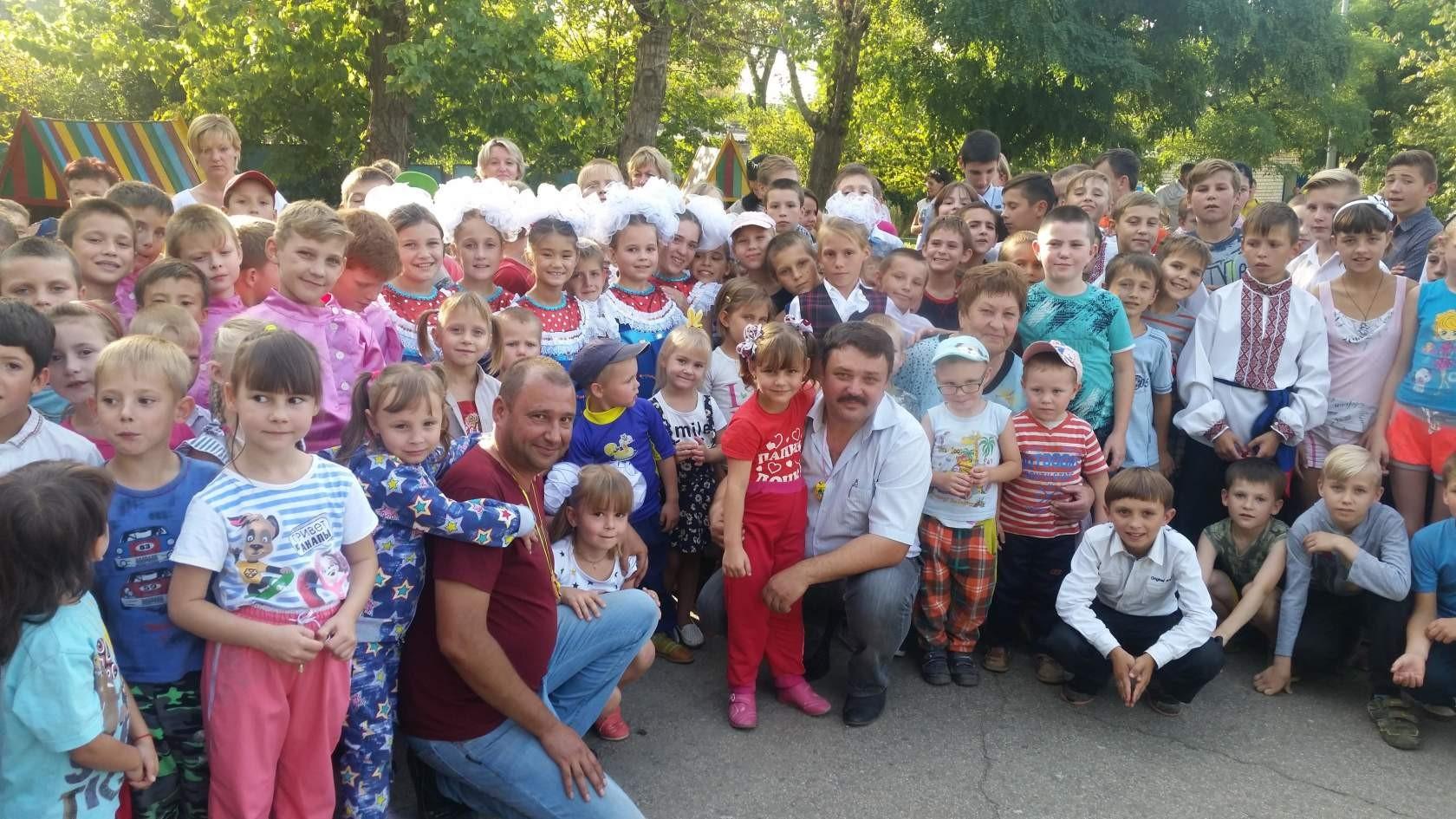 Заставка для - Благотворительная помощь граждан России - детям Донбасса!